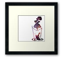 Tight Rope Lady Framed Print