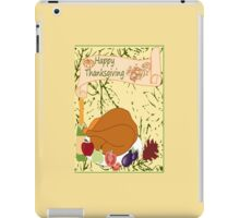 Happy Thanksgiving (2643 Views) iPad Case/Skin