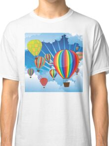 Air Balloons in the Sky 4 Classic T-Shirt