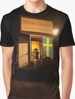 Ghostly Chronicle - LOOK CLOSELY Graphic T-Shirt