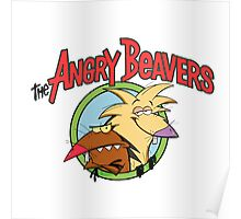 Angry Beavers Poster