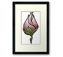Gentility in Bloom Framed Print