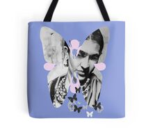Frida -Pink & Blue Tote Bag
