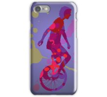The Unicyclist iPhone Case/Skin