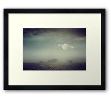 in my other world Framed Print