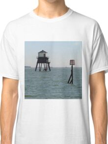 The Low Lighthouse, Dovercourt, 1863 Classic T-Shirt