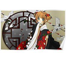 Sakura - kimono Poster