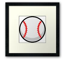 Cool Baseball Framed Print