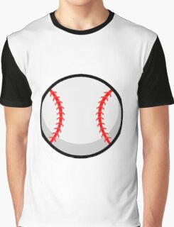 Cool Baseball Graphic T-Shirt