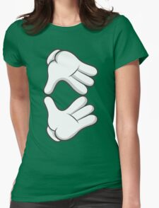 Good Gloves • Gem Womens Fitted T-Shirt
