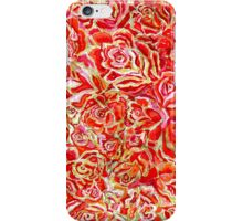 Red Roses Watercolor iPhone Case/Skin