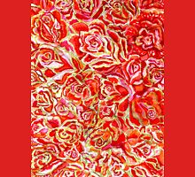 Red Roses Watercolor Unisex T-Shirt