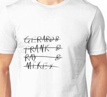 MCR Names Unisex T-Shirt