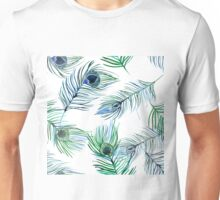 Soft scene of feathers Unisex T-Shirt