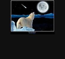 Polar Moon -  Polar Bear and Full Moon  Unisex T-Shirt