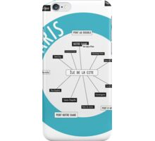 City Infographic / Paris iPhone Case/Skin