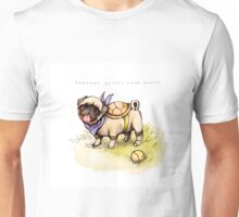 Pugtle 2: clean background version Unisex T-Shirt
