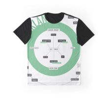 City Infographic / Auckland Graphic T-Shirt