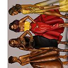 Spice girls by Peniel Enchill