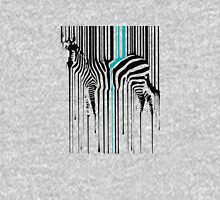 Dripping Zebra Art Animal Barcode Unisex T-Shirt