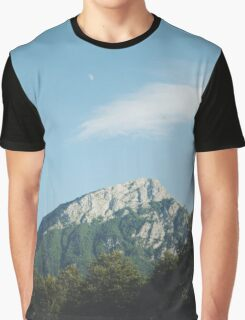 Mountains in the background VIII Graphic T-Shirt