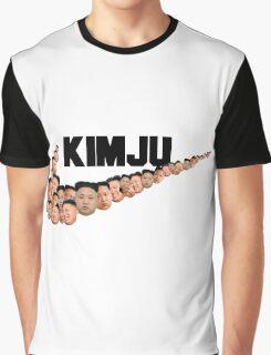 Kim Jong Un Faces - Nike Logo Graphic T-Shirt
