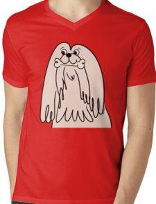 Oscar Apso The Lhasa Apso Mens V-Neck T-Shirt