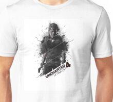 UNCHARTED 4 T-SHIRT, CASE, STICKER, GAME, WALLET Unisex T-Shirt