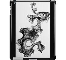 Black paintbrush pen drawing iPad Case/Skin