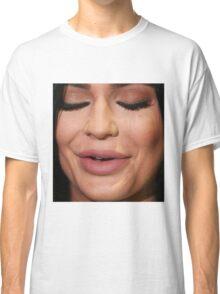 kylie jenner face Classic T-Shirt