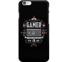 Classic Gamer iPhone Case/Skin