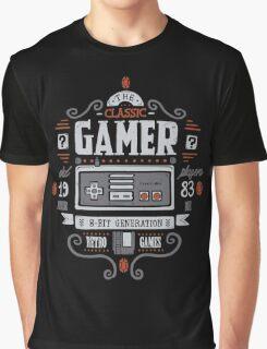 Classic Gamer Graphic T-Shirt