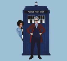 The Doctor and Bill Baby Tee