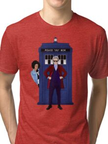 The Doctor and Bill Tri-blend T-Shirt