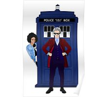 The Doctor and Bill Poster