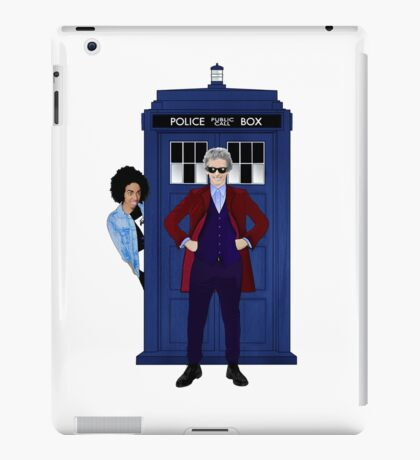 The Doctor and Bill iPad Case/Skin
