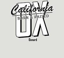 Oxnard Born and Raised Black and White Unisex T-Shirt