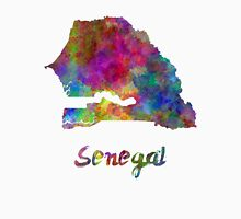 Senegal in watercolor Unisex T-Shirt