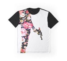 Han Foloral Graphic T-Shirt