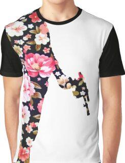 Han Foloral Graphic T-Shirt