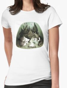 Scary Stories Womens Fitted T-Shirt