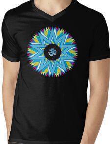 Radiant Om... Mens V-Neck T-Shirt