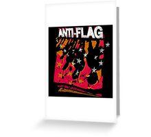 Anti-Flag Greeting Card