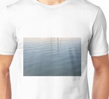 Ripples in the water. Unisex T-Shirt
