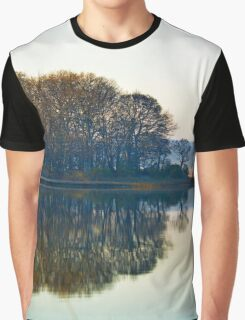 Morning Reflections   Cutchogue, New York Graphic T-Shirt