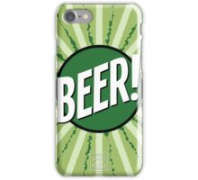 Crate and Pickle - Beer! iPhone Case/Skin