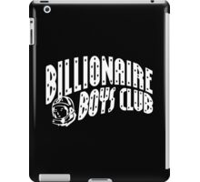 Billionaire Boys Club White iPad Case/Skin