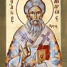 St Andrew of Crete by ikonographics