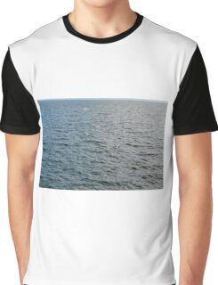 Pattern with the sea. Graphic T-Shirt