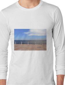 Promenade by the sea. Long Sleeve T-Shirt